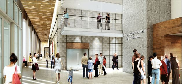 Parish Episcopal School Performance & Community Center Lobby to be named in family's honor