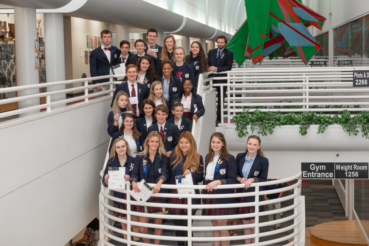 Parish Episcopal School students inducted into International Thespian Society