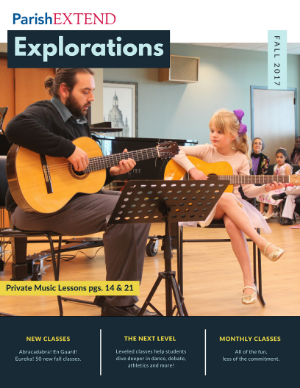 cover of ParishEXTEND Fall Explorations 2016 cover